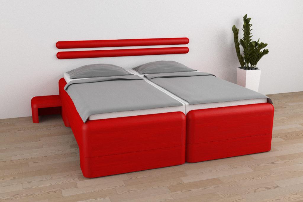 Posuvné hotelové postele HeyBay® Design Martin Okleštěk